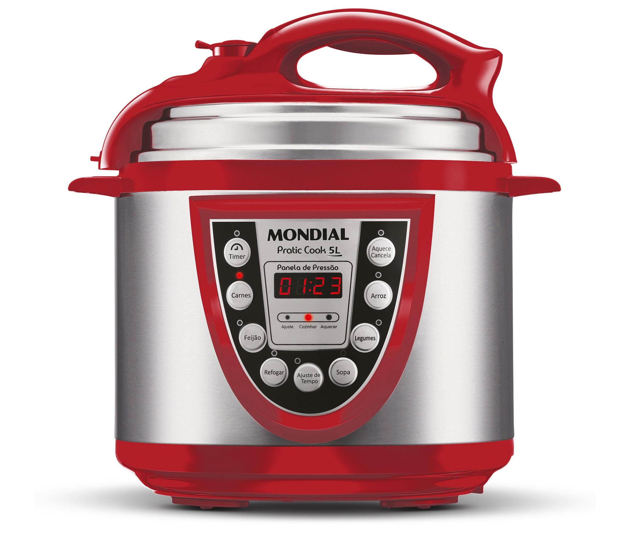 Panela de Pressão Elétrica Mondial Pratic Cook PE-12