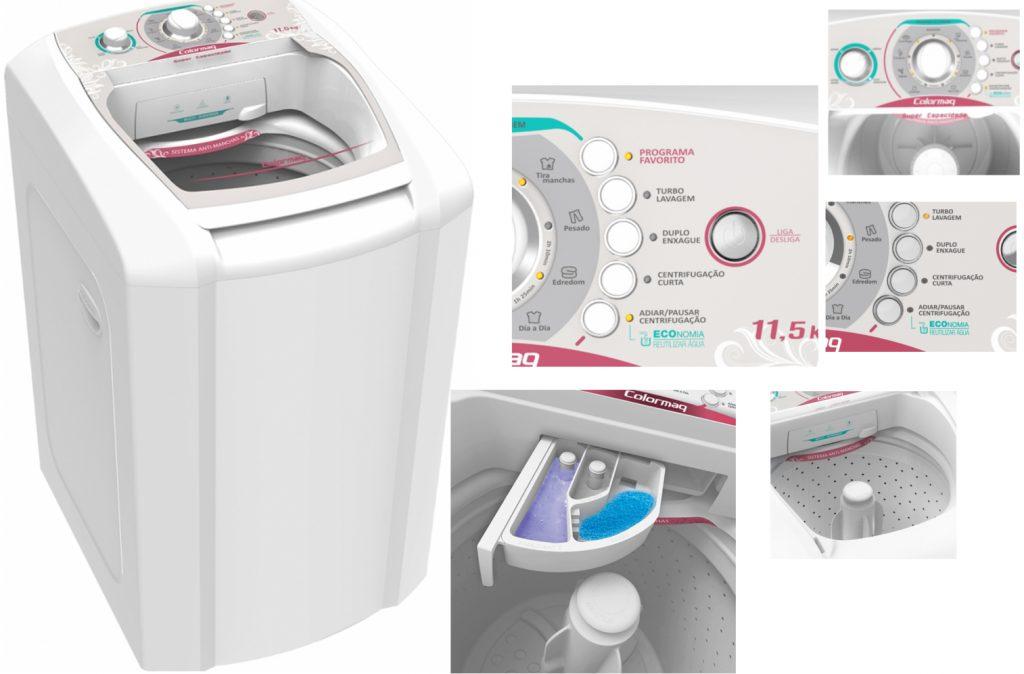 maquina de lavar colormaq e boa