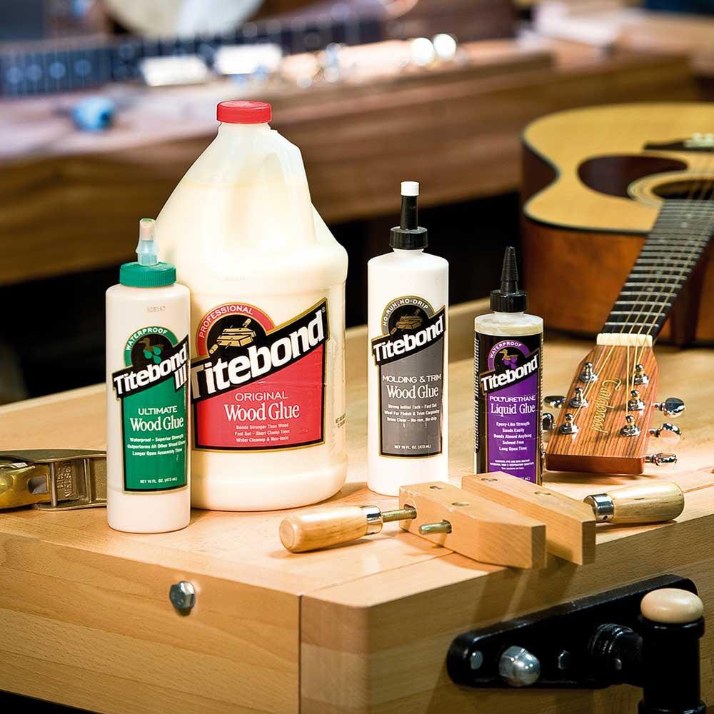 A melhor cola para madeira é a Hide Glue