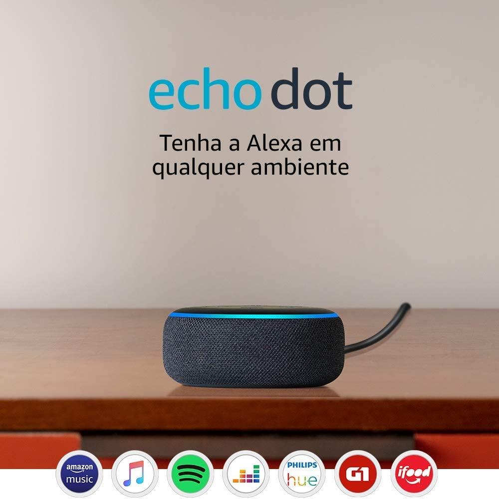 O Echo Dot é bom em suas funcionalidades