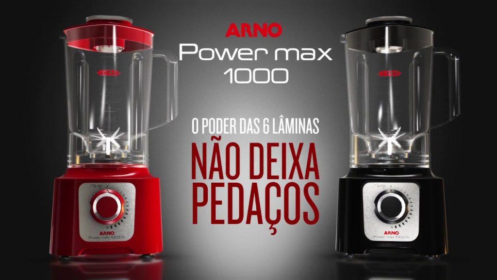 Para saber se o liquidificador Arno Power Max 1000 é bom, fique atento a todas as suas características.
