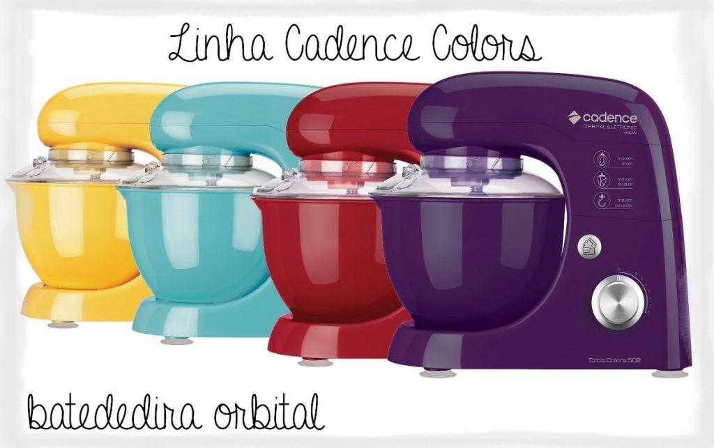 Investir na batedeira Cadence é boa ideia pela variedade de cores disponíveis.