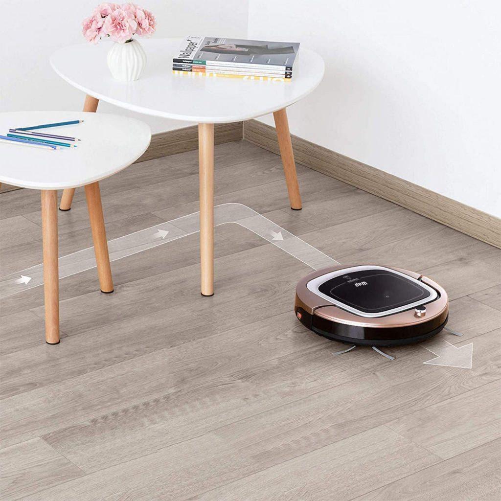 O robô aspirador WAP Robot é bom e possui 3 modelos para escolher de acordo com o seu orçamento.