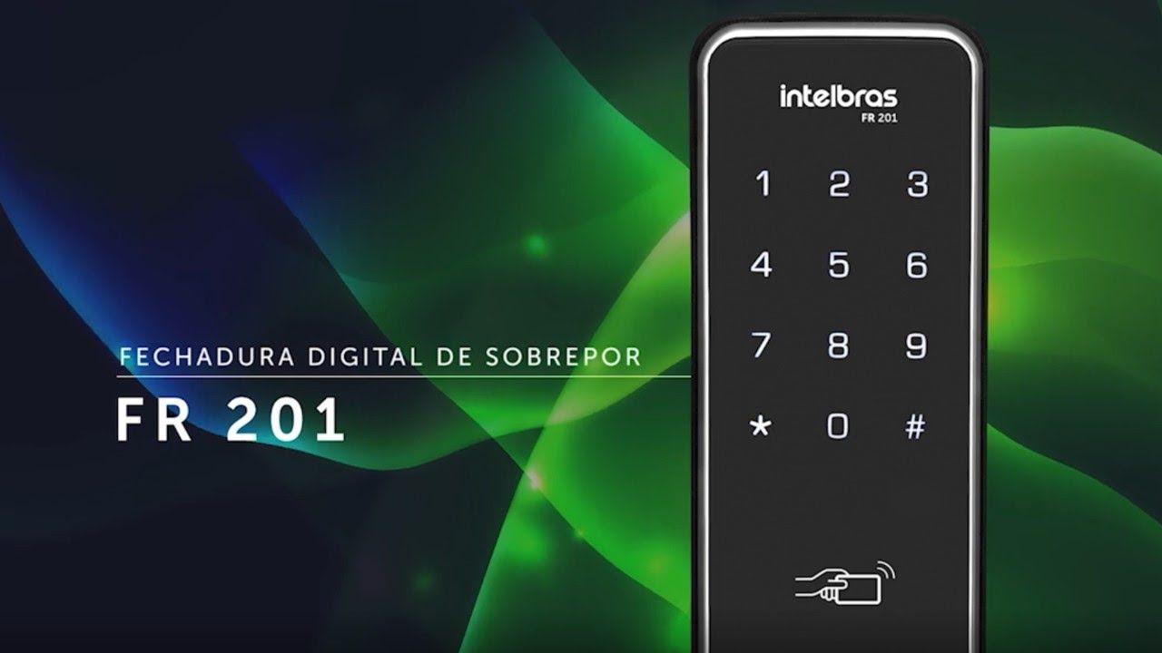 Fechadura Digital Intelbras FR201 e boa2