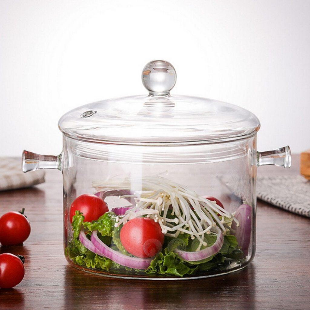 A melhor panela de vidro é capaz de oferecer refeições mais saudáveis.