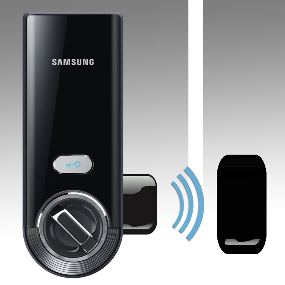 A Fechadura Digital SHS-3321 Samsung é boa porque traz muitas funcionalidades.