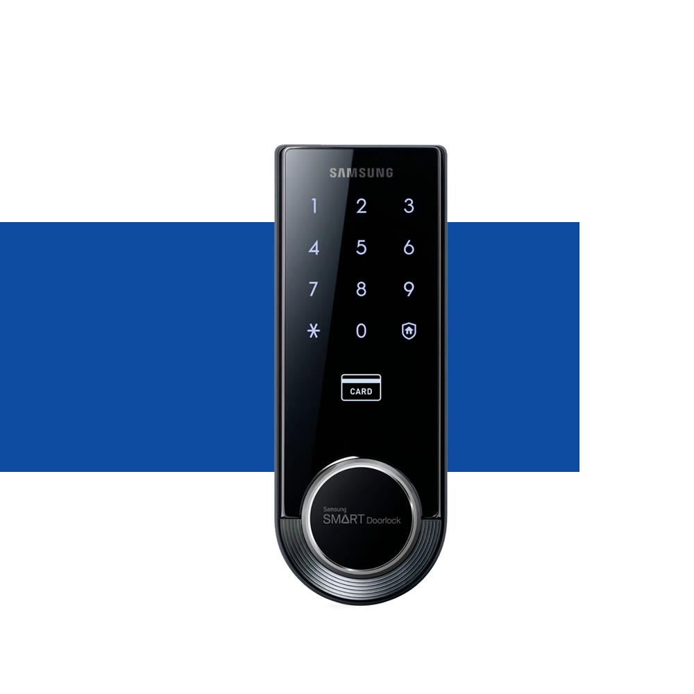 Fechadura Digital SHS-3321 Samsung é boa
