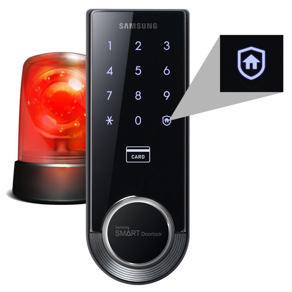 Fechadura Digital SHS-3321 Samsung é boa e muito eficiente.