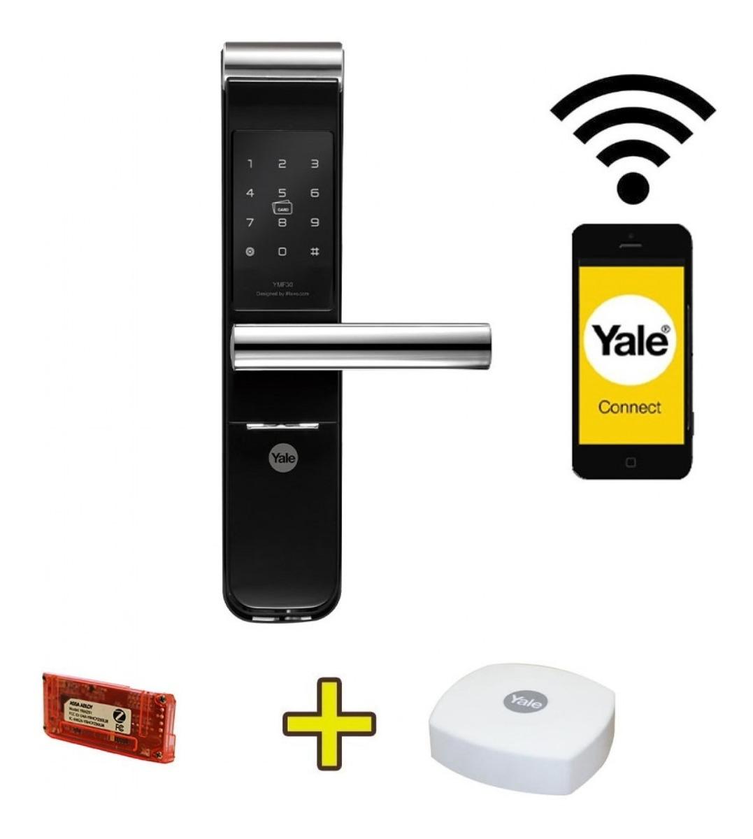 A Fechadura Digital Yale YMF 30 é boa pois conta com muitas funcionalidades.