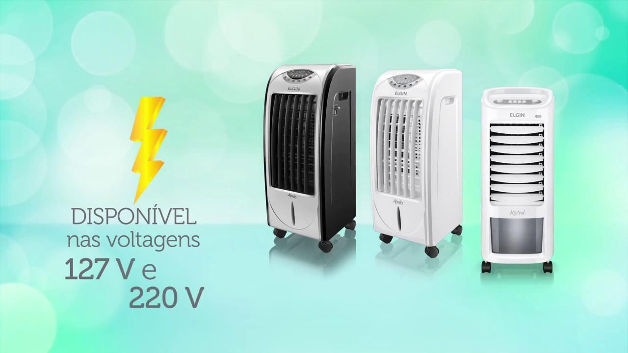 O climatizador de ar Elgin é bom,mas precisa ser usado corretamente pra garantir a sua eficiência.
