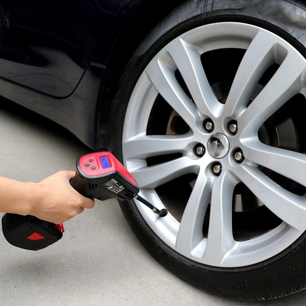 Compressor de Ar Portátil Air Hawk é bom para encher pneus de carro.