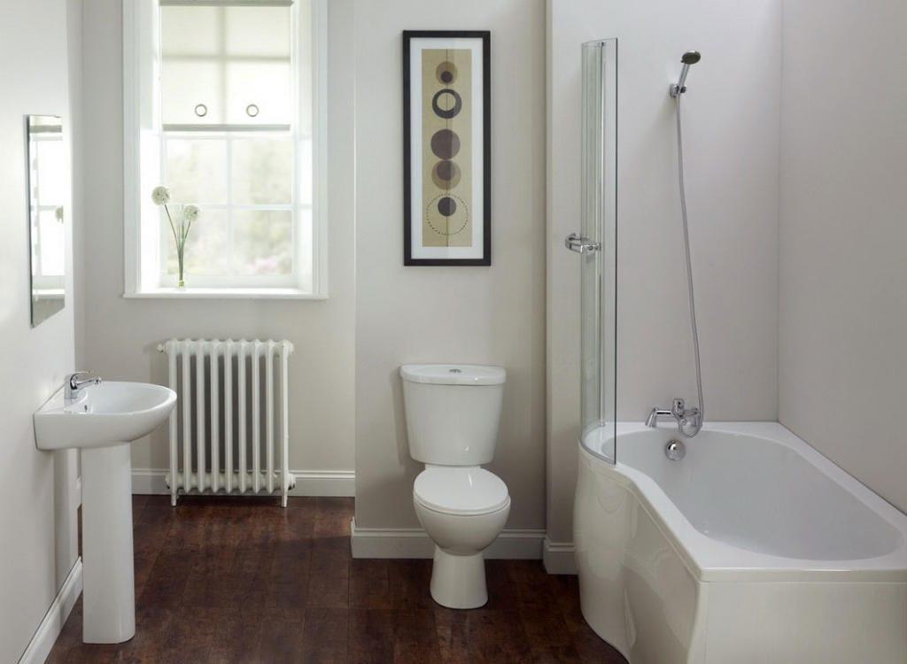 Banheiros simples e pequenos mais de 60 fotos for Simple small toilet design