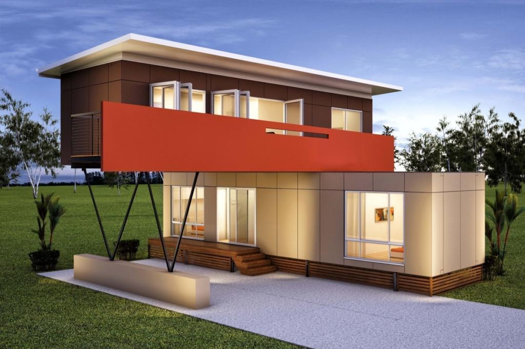 projeto de casa container