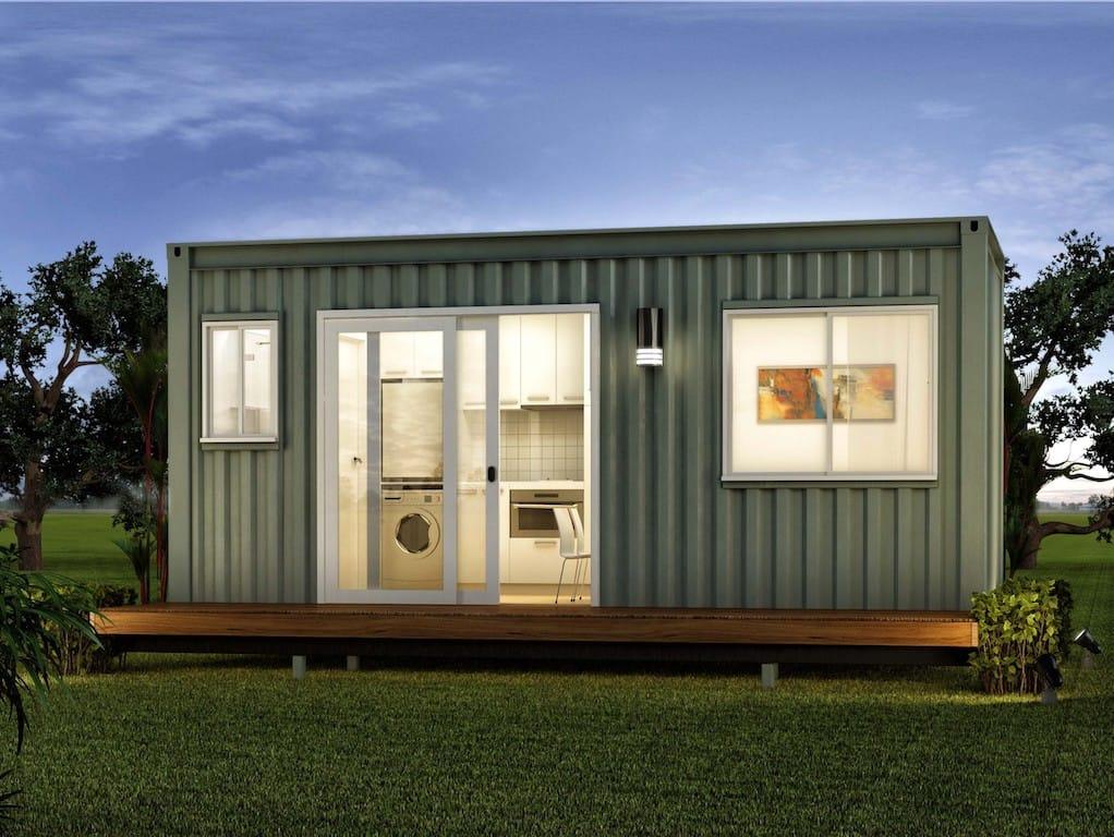casa container pequena