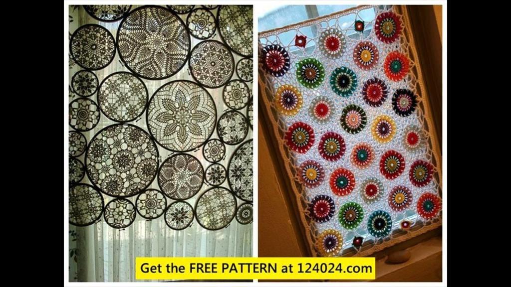 95 modelos de cortinas de croch u00ea e passo a passo total Easy Sew Kitchen Curtain Patterns Kitchen Curtain Sewing Patterns