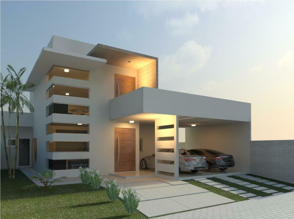 120 fachadas de casas simples e pequenas fotos lindas for Modelos de casas fachadas fotos