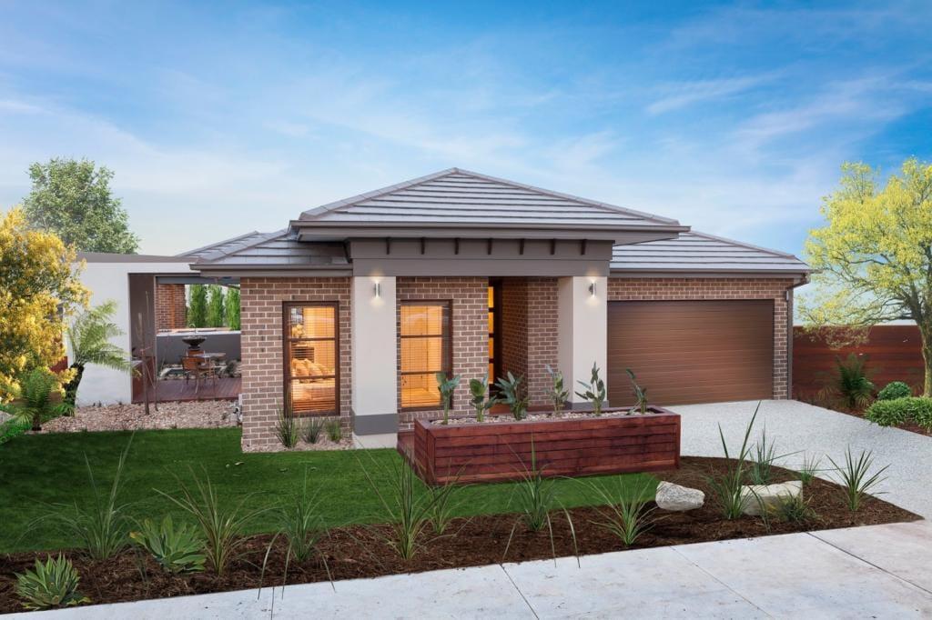 120 fachadas de casas simples e pequenas fotos lindas for Fachadas modernas para casas pequenas de una planta