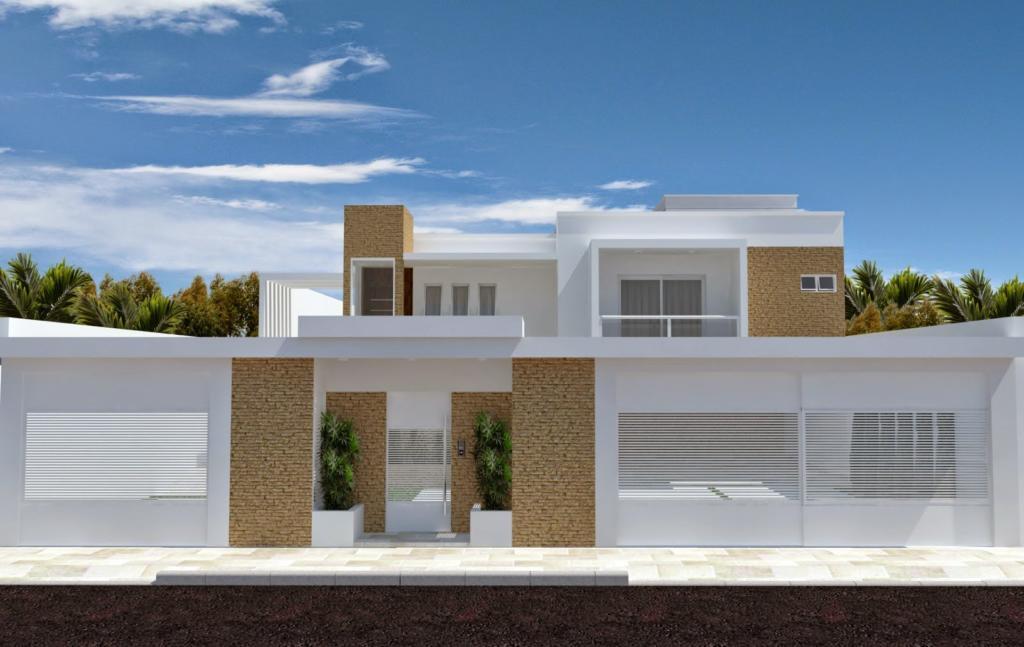 Fachadas de casas 12 or amento de obras - Ceramica para fachadas casas ...