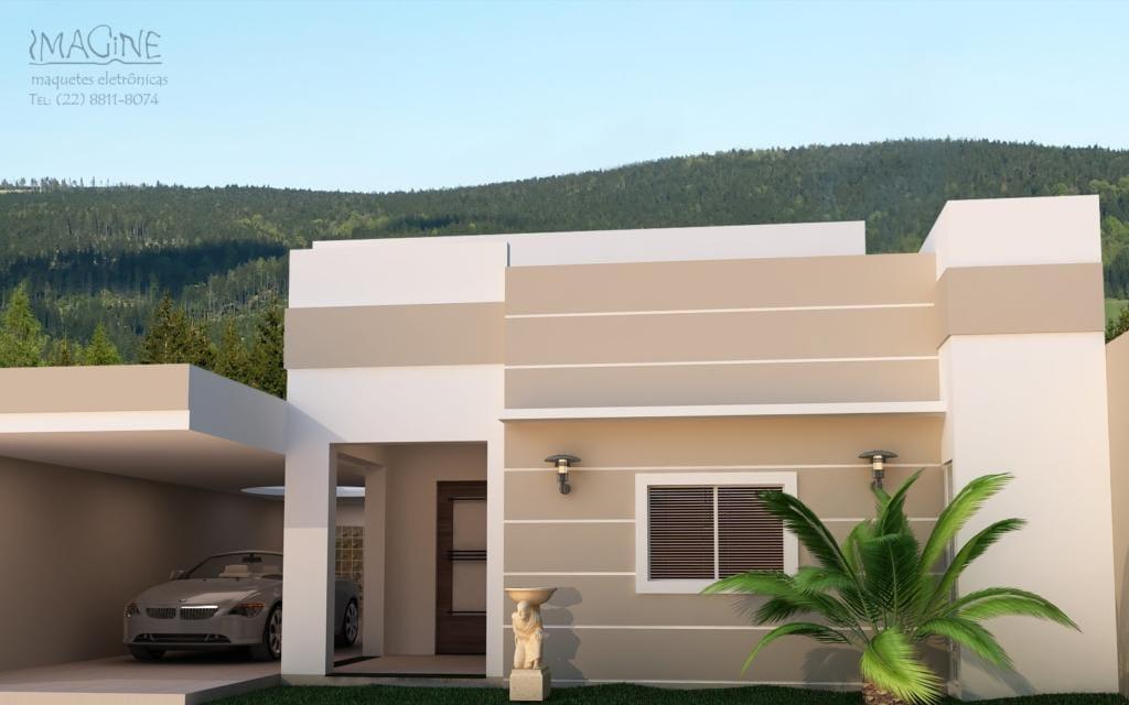 120 fachadas de casas simples e pequenas fotos lindas - Fachadas casas de pueblo ...