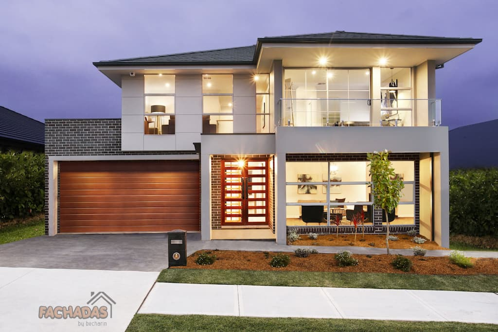 120 fachadas de casas simples e pequenas fotos lindas - Distribuciones de casas modernas ...