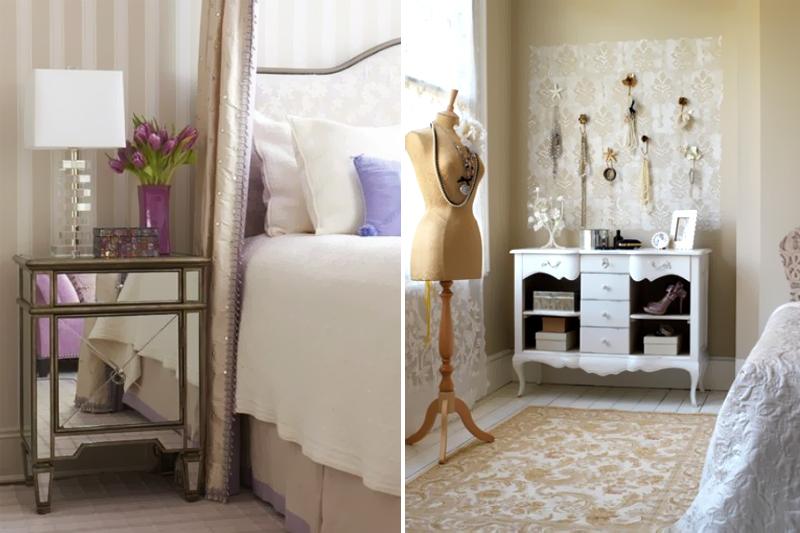 Móveis diferentes para quartos femininos