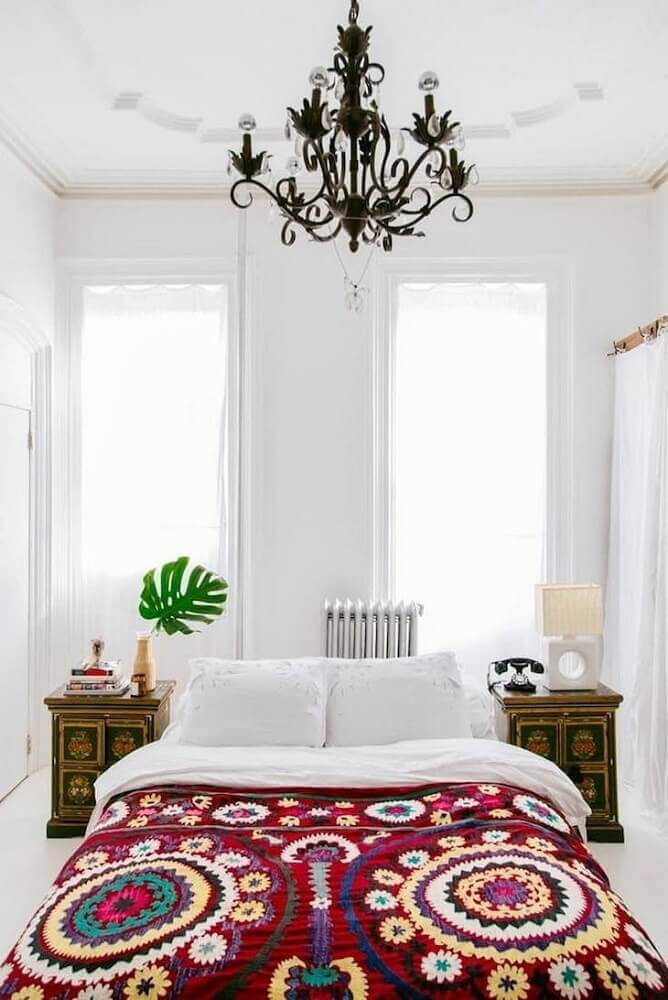 quarto feminino branco