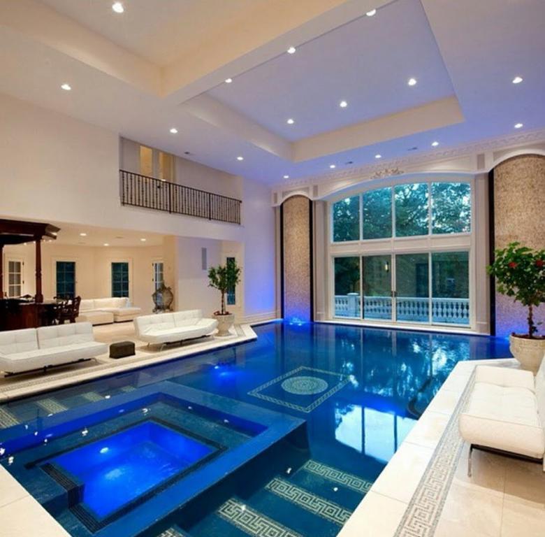 Casas luxuosas e chiques 140 modelos e fotos incr veis for Fotos de piscinas modernas en puerto rico