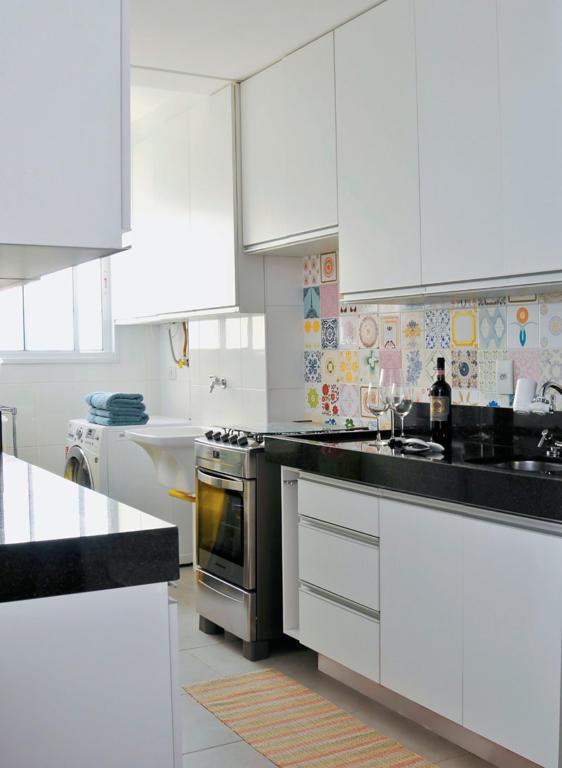Cozinha Corredor Estreita 60 Projetos Fotos E Ideias Or Amento  ~ Sala E Cozinha Juntos Pequena