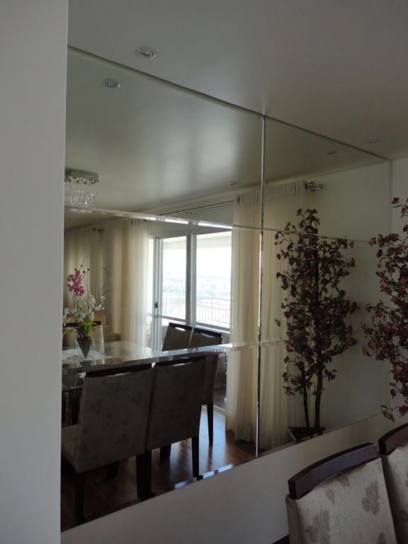 Aparadores Quadrado ~ 100+ Fotos de Espelhos Bisotados na decoraç u00e3o Total Construç u00e3o
