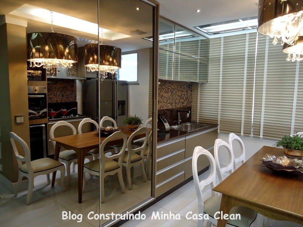 98 Modelos De Espelho Bronze Na Decora O De Ambientes Or Amento  ~ Espelho Bronze Em Quarto De Casal