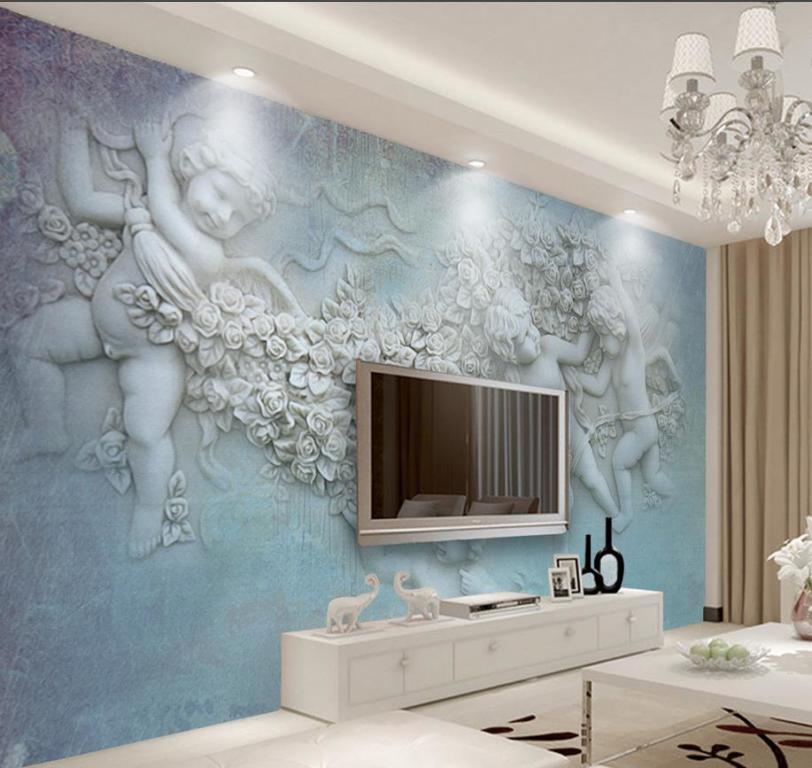 Papel de parede para banheiro - Total Construção