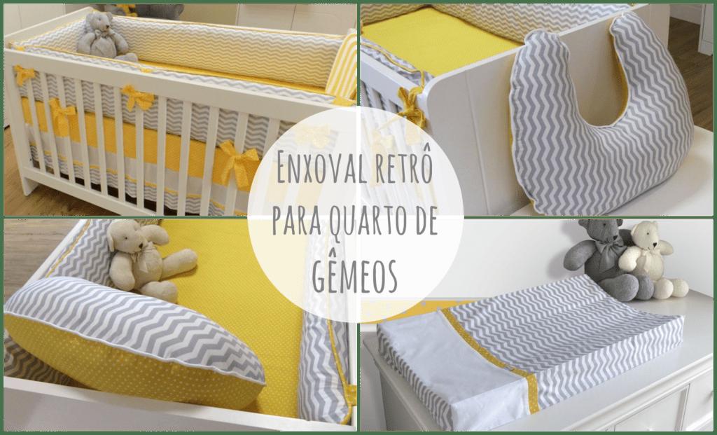 Quarto Bebe Gemeos_177 Or Amento De Obras ~ Quarto De Bebe Lindo E Decoracao Quarto Retro