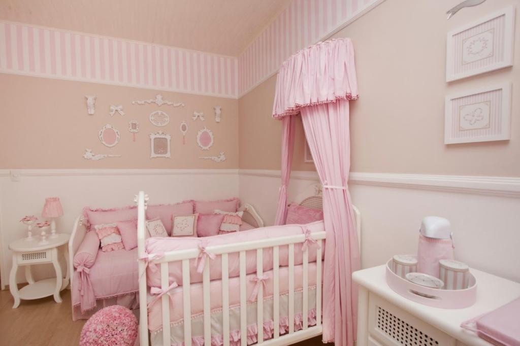 Quartos Roxos Decorados 98 Fotos Or Amento De Obras ~ Cores Para Pintar Quarto De Casal Com Quarto Bebe Feminino Simples