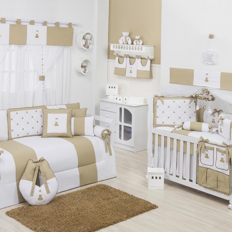 Modelos De Quartos Neutros Para Crian As Or Amento De Obras ~ Decoração De Quarto De Bebe Pequeno
