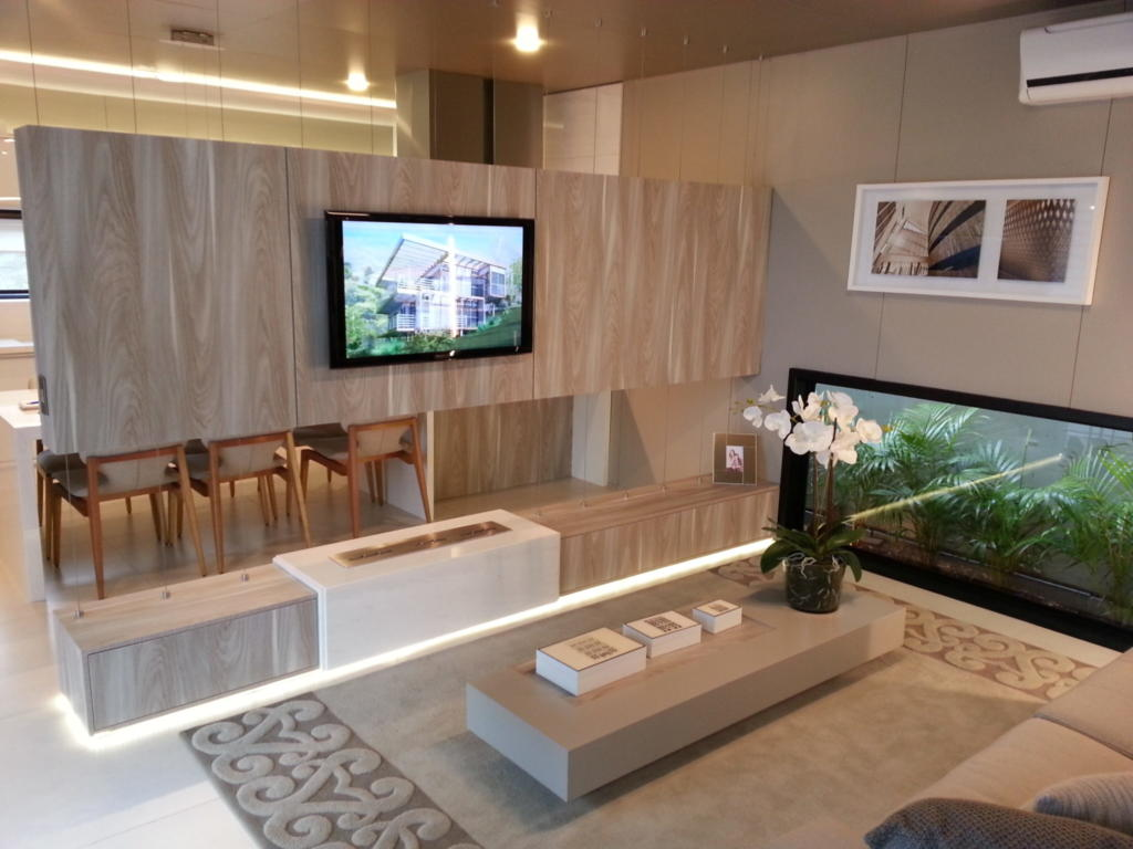 100 fotos de sof s pequenos para salas de estar total constru o - Decorar salita de estar pequena ...