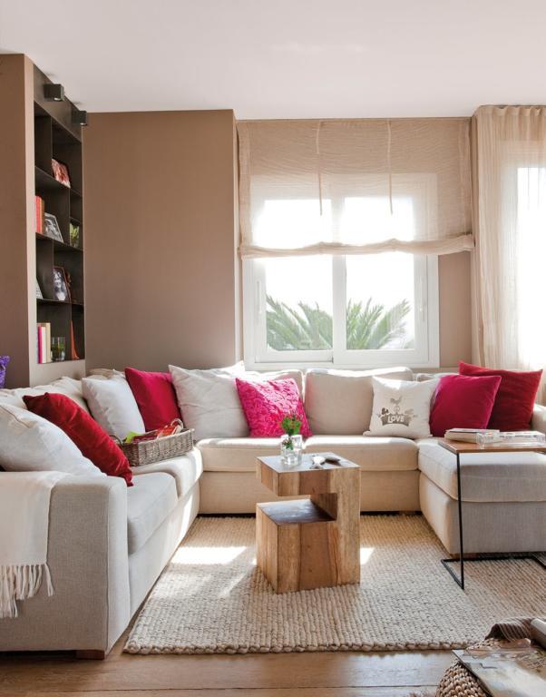 100 fotos de sof s pequenos para salas de estar total for Sofas para salones estrechos