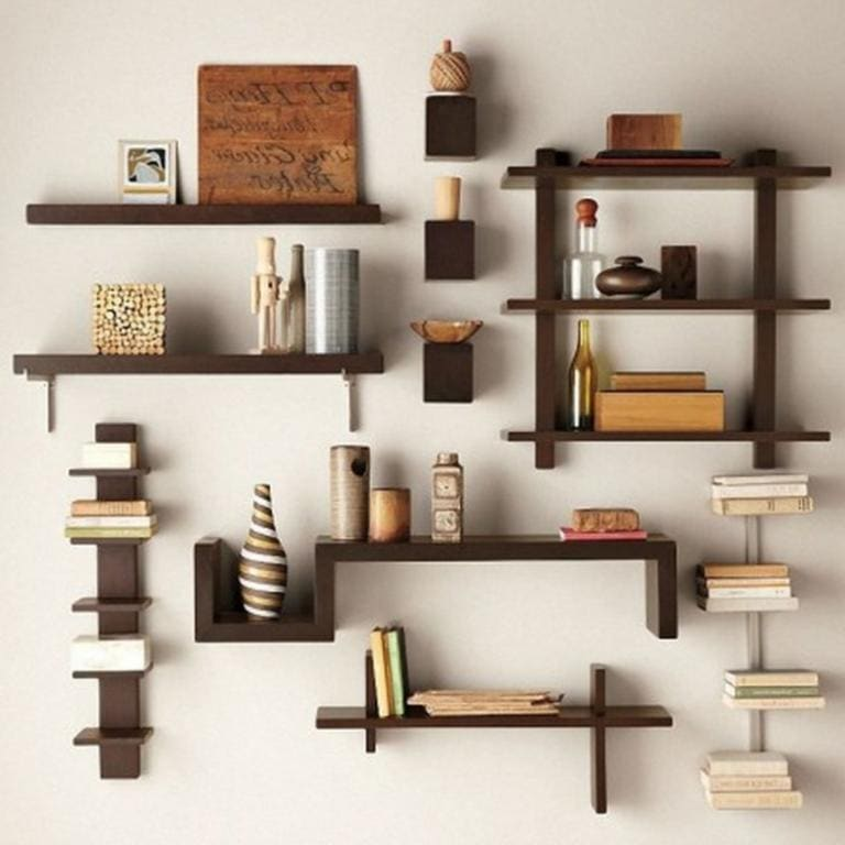 Good Awesome Diy Living Room Shelf Ideas Creative Diy Wall Shelves Ideas Unique  Wall Decor Shelves Nice Ideas