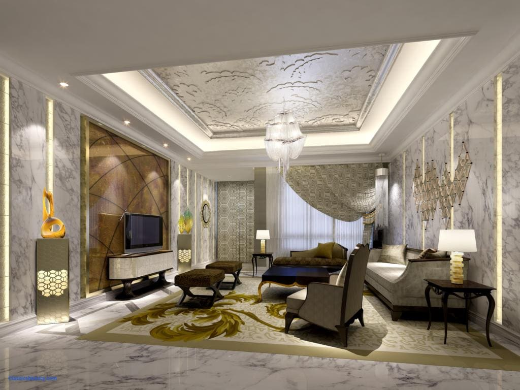 Luxury Ideas For Lavish Living Room Style: Sala De Estar De Luxo, Chiques E Modernas: Mais De 89