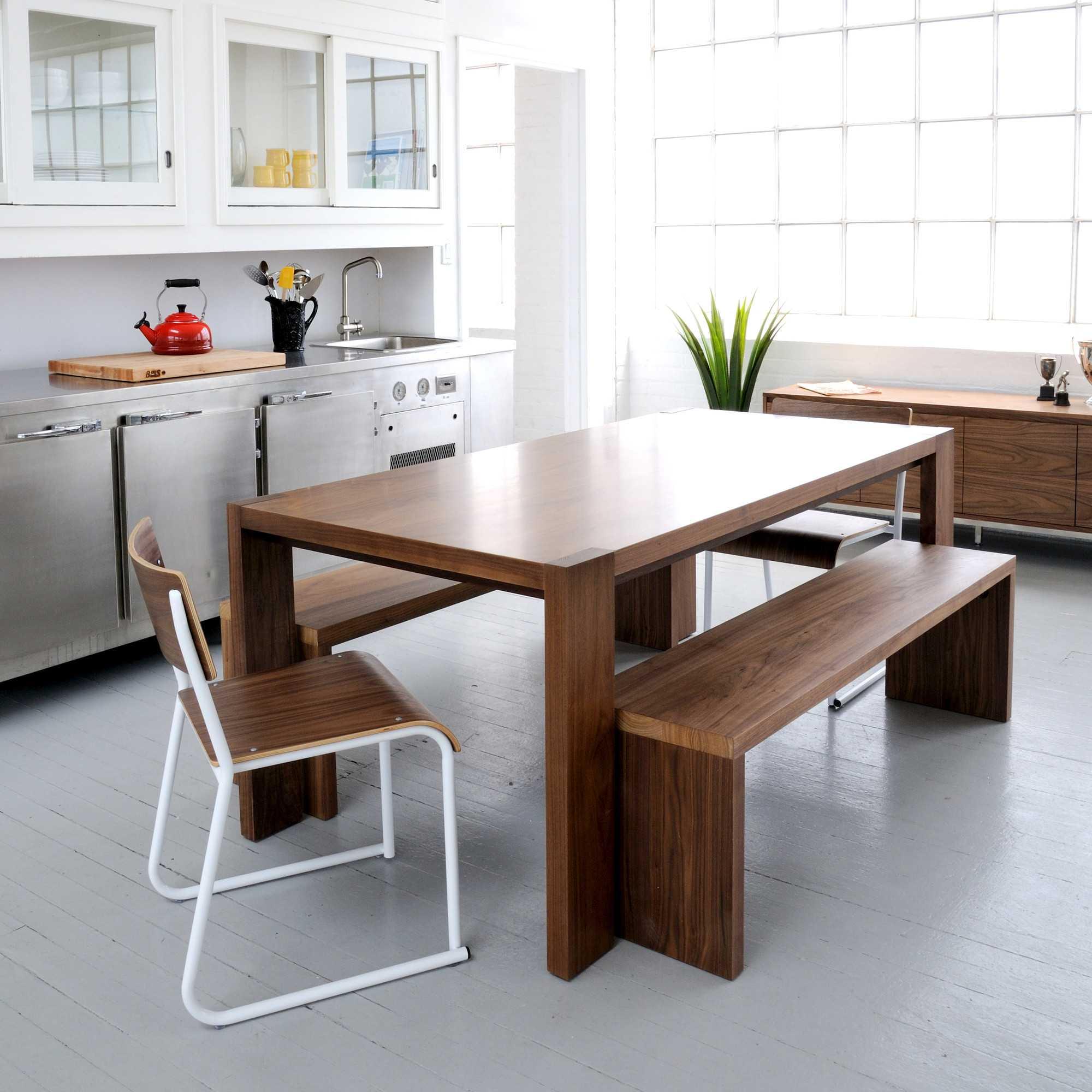 sala de jantar na cozinha
