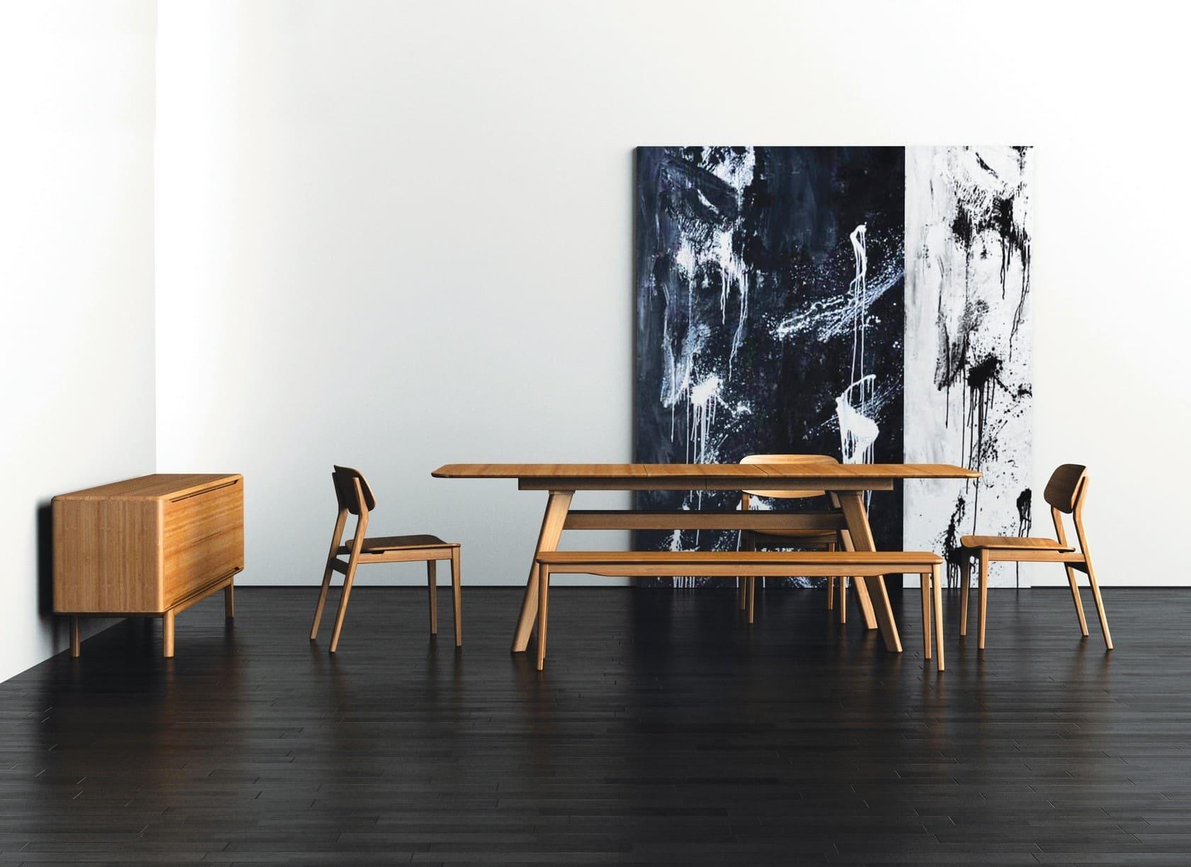 sala de jantar com decoração moderna