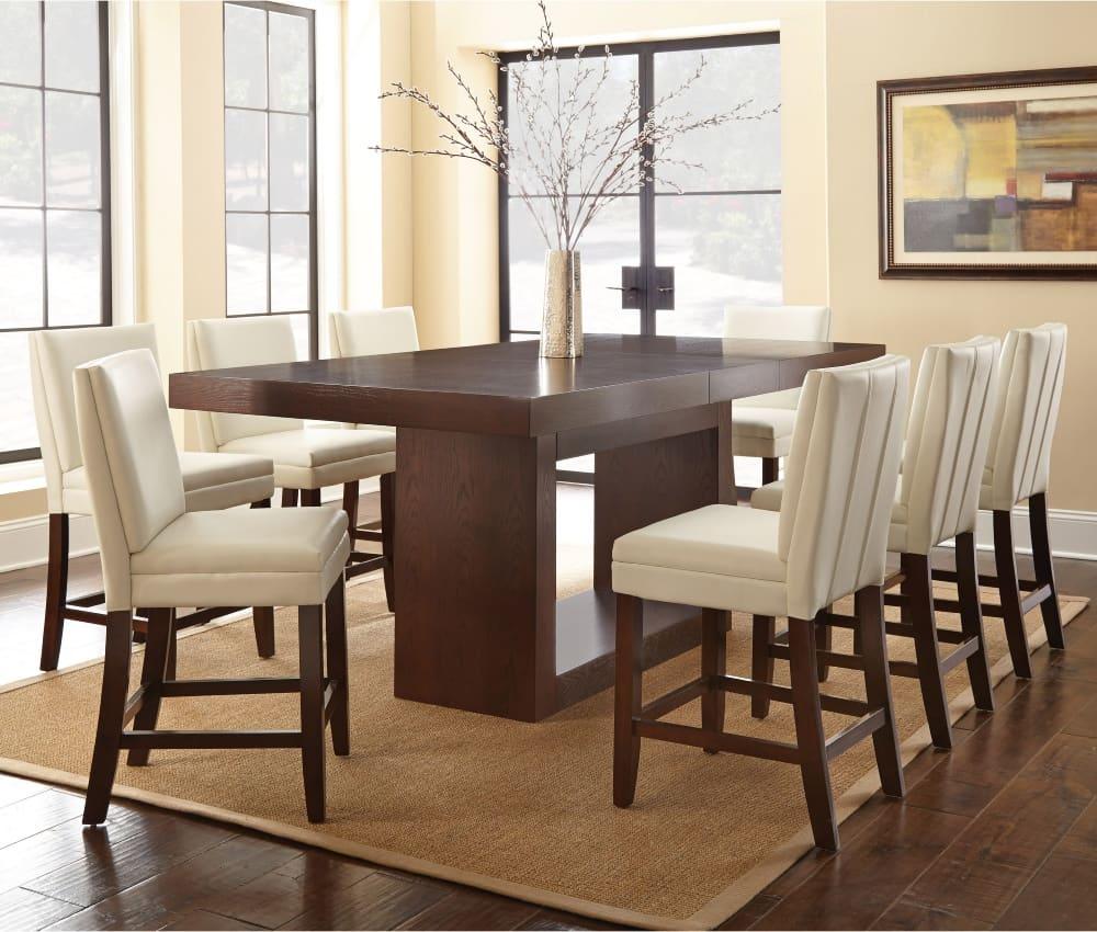 mesa de jantar vazada
