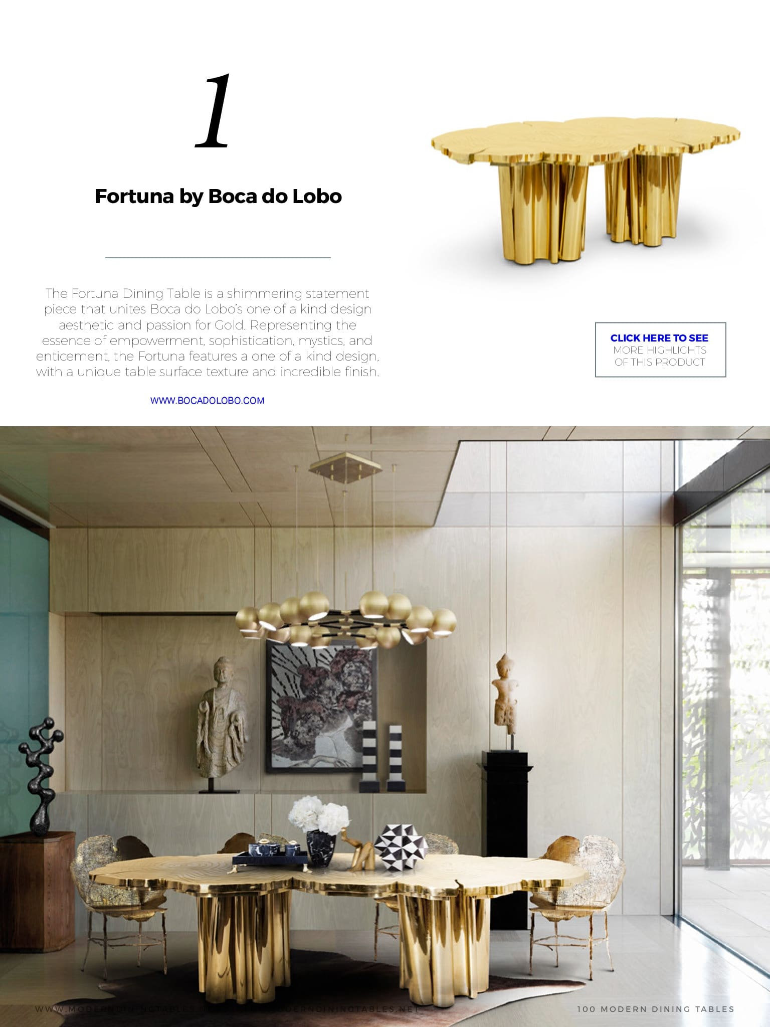 mesa dourada