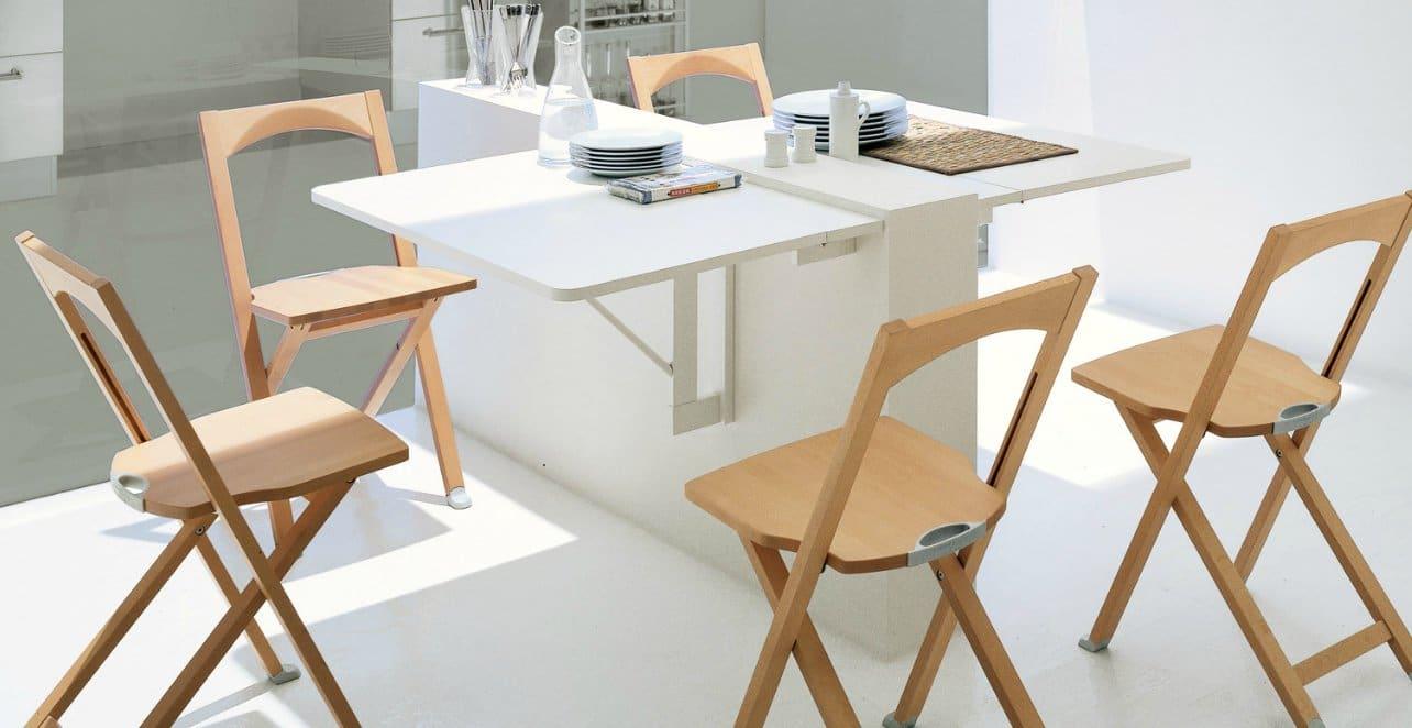 sala de jantar com espaço otimizado