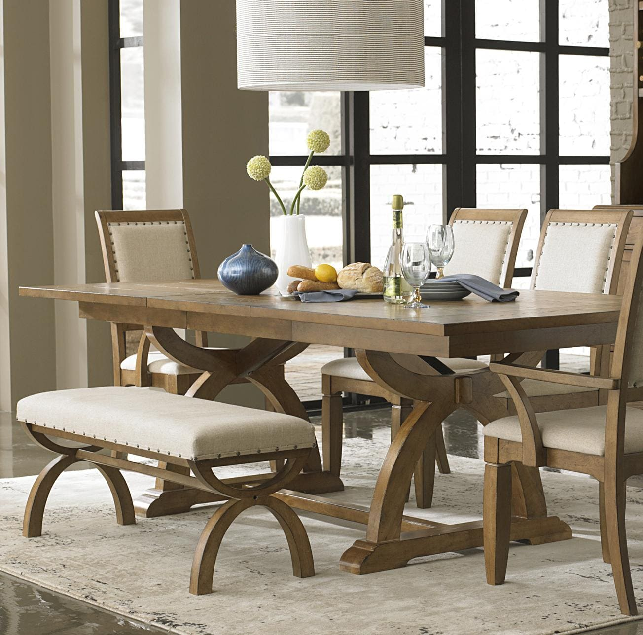 mesa de jantar de madeira
