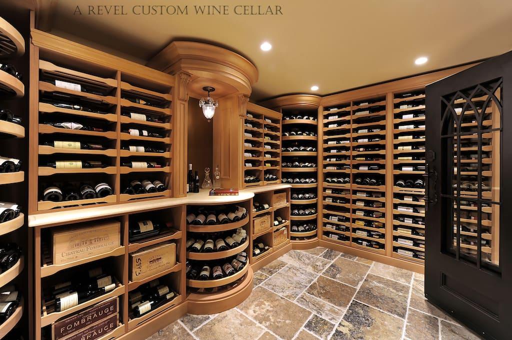 adega de vinhos grande