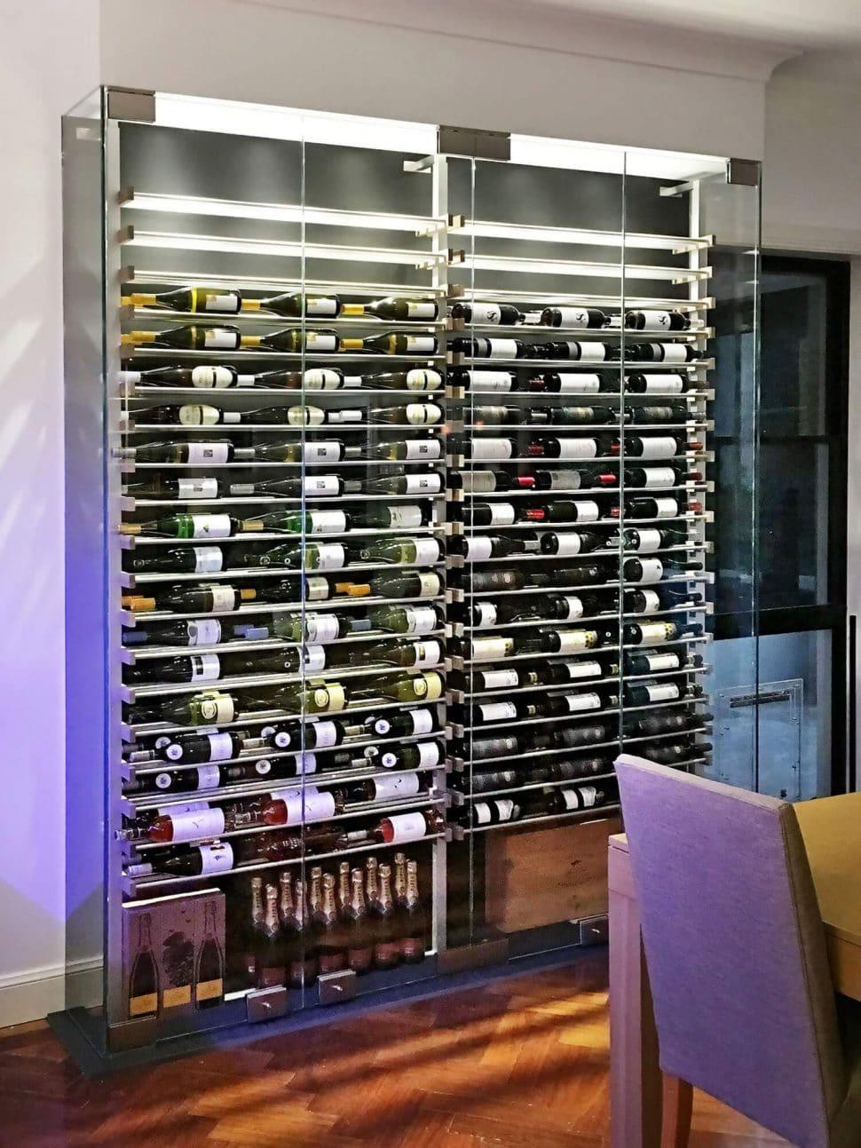 adega de vinhos moderna