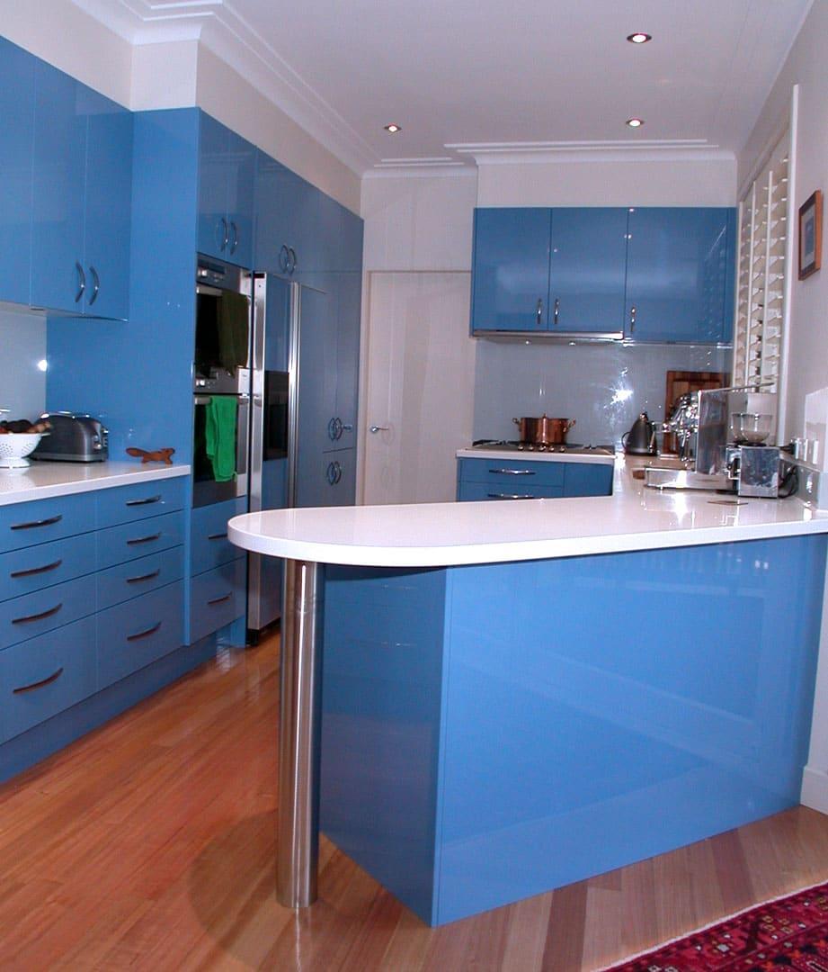 Cozinha Azul Marinho Tiffany Etc Mais De 87 Fotos Total