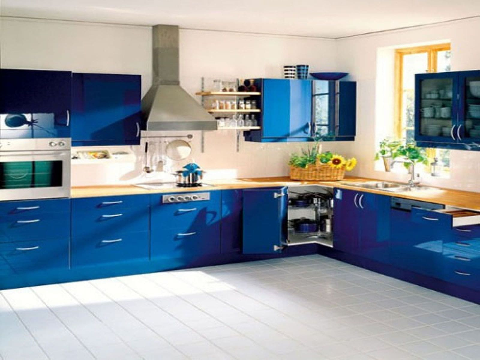 Navy Blue Kitchen Decor Best Red And Yellow Kitchen Ideas Axiomseducation  Com Photo Gallery