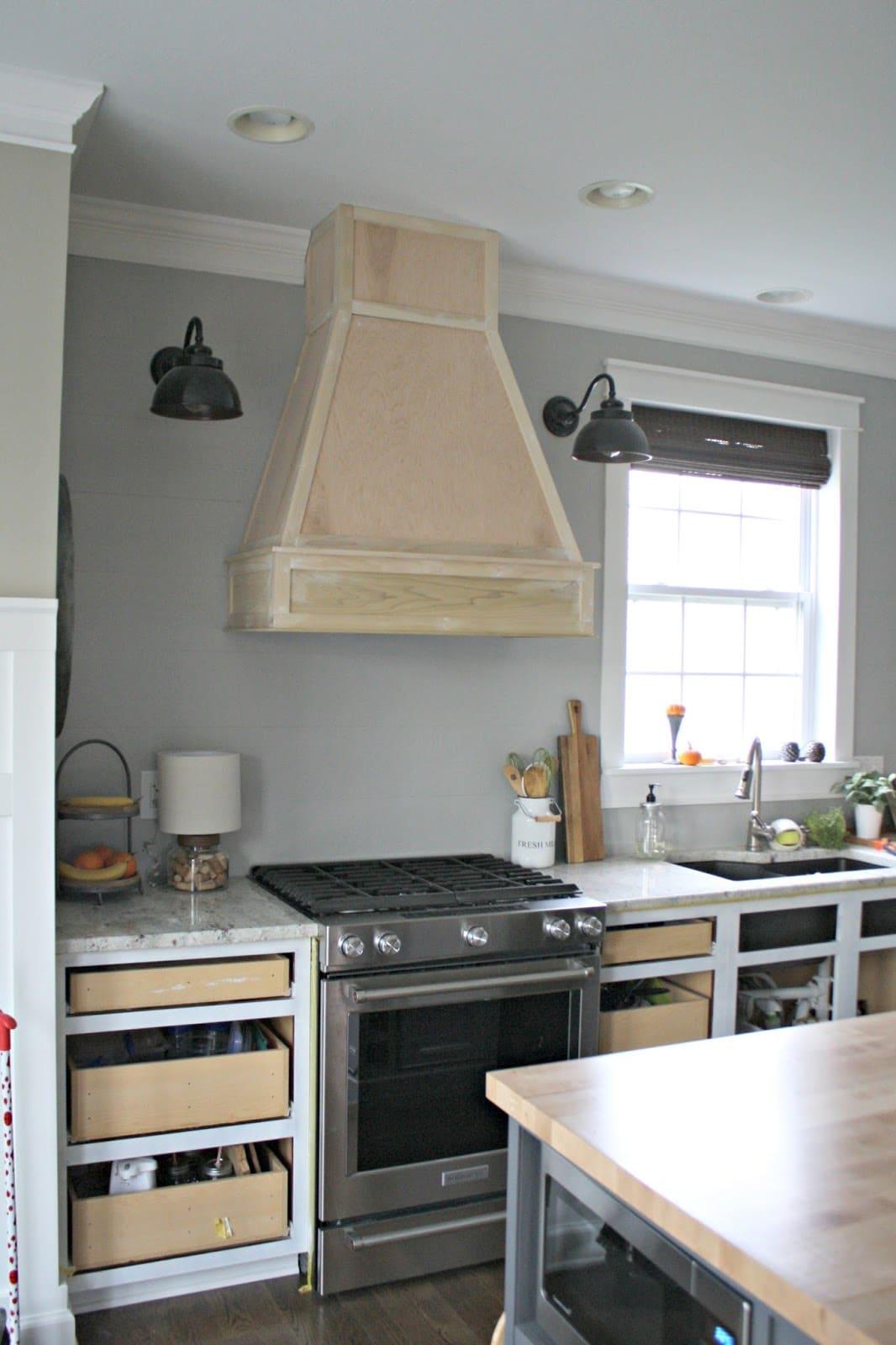 Cozinha Com Coifa 11 Or Amento De Obras