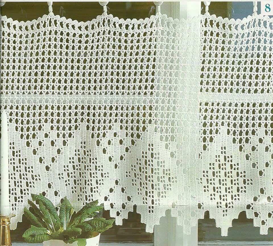 Cortina De Croch Para Cozinha Total Constru O